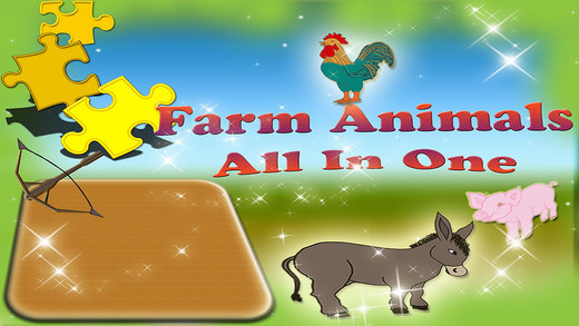 Animals Magical Farm Fun All In One Games Collection