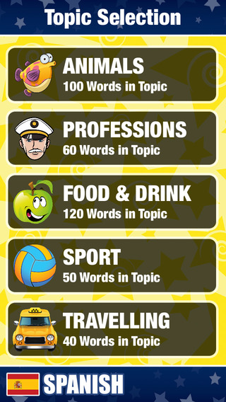 My Spanish - Learning New Words