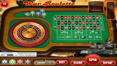 Screenshot 2 Спин казино рулетка призывателей войны турниров в Лас-Вегасе стиль Free