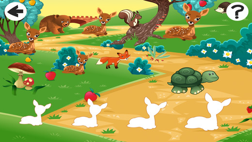 Animals of the Forest Kid-s Game-s To Learn Sort-ing and Logic-al Think-ing