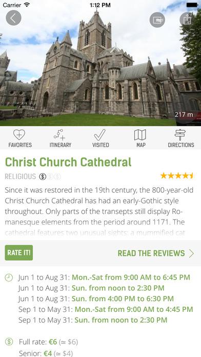 Dublin Guide - mTrip iPhone Screenshot 4