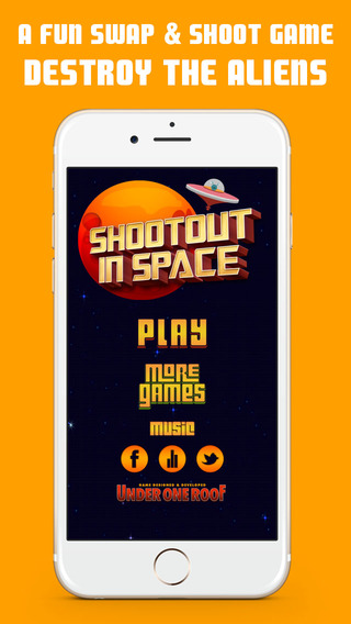 Shootout In Space