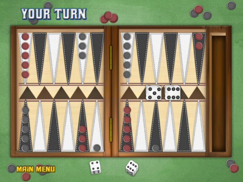 Backgammon Deluxe iPad Screenshot 2