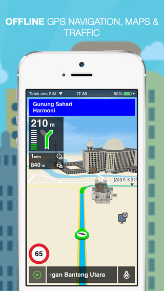 NLife Indonesia - Offline GPS Navigation Maps