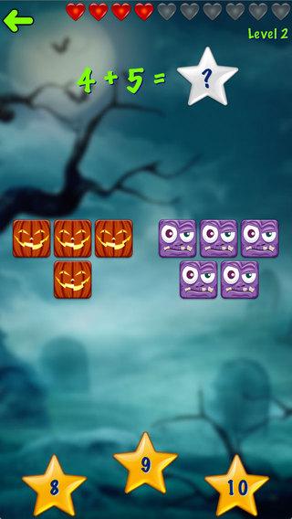 Ace Halloween Kids Math Free