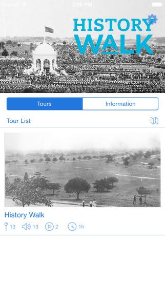 Centennial Park History Walk