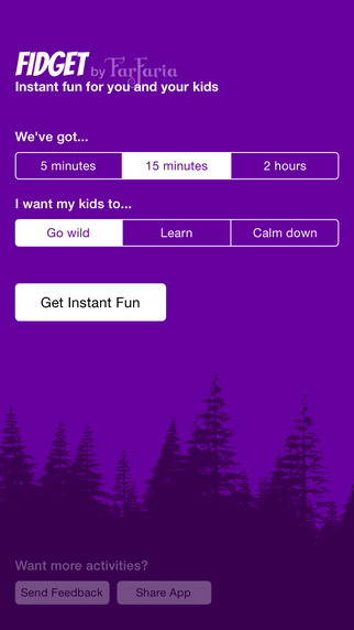 Fidget by FarFaria - Free Activities for Your Kids