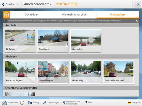Screenshot 2 FahrenLernen