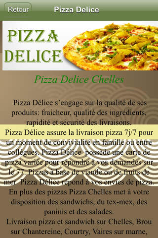 Pizza Delice screenshot 2