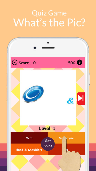 Screenshots of Picture Logo Trivia - Solve puzzles. Guess the brands. Win trophies. for iPhone