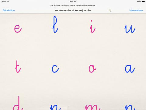 Ecriture moderne cursive à l'école : GS CP CE1 - minuscules et majuscules