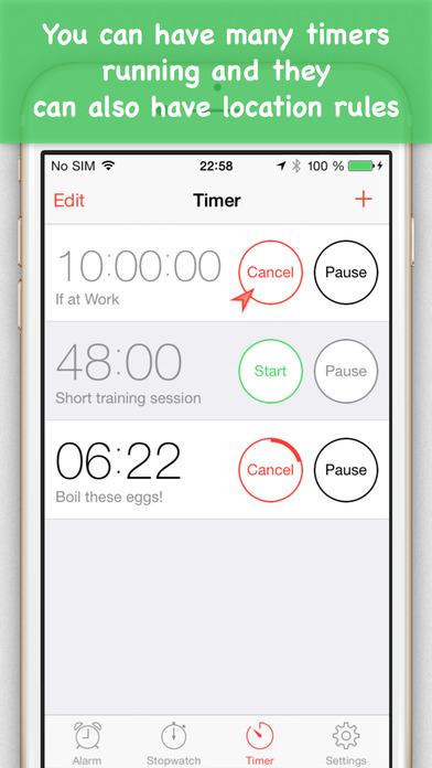 Place Clock iPhone Screenshot 5