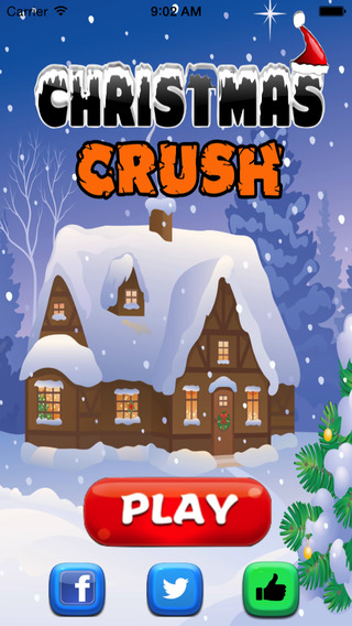 Christmas match : Match three puzzle game