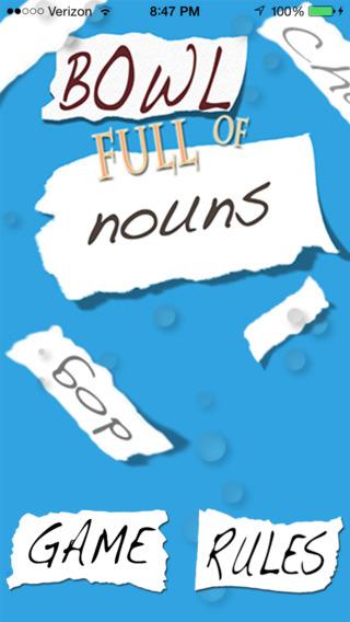 Bowl Full of Nouns
