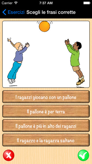Montessori Read Play in Italian - Learning Reading Italian with Montessori Methodology Exercises