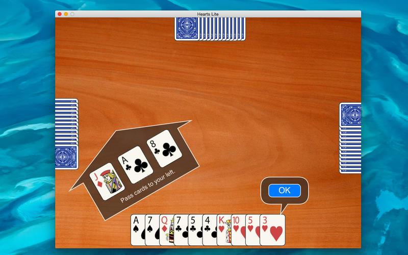 Hearts Lite Screenshot - 3