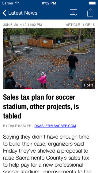 Sacramento Bee app for iPhone app - Local Breaking News Traffic Weather Sports