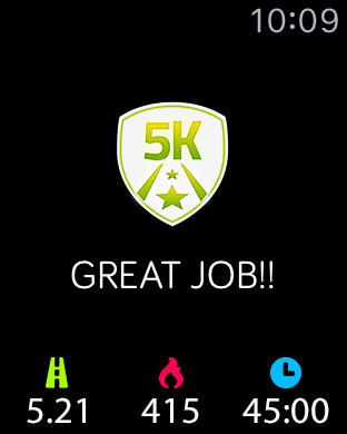 5K Runner: 0 to 5K Run Trainer. Couch potato to 5K Screenshots