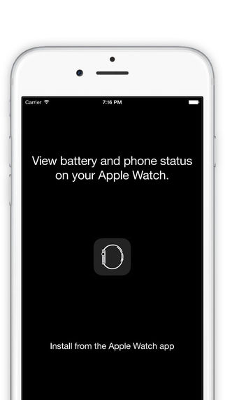 Dash for Apple Watch - Battery and Network Status Dashboard