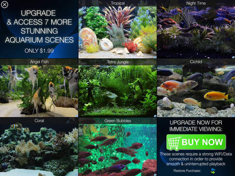 Aquarium HD : Tropical and Marine Fish Tank Scenes screenshot