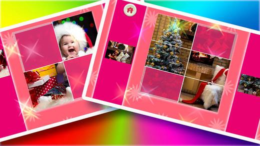 玩免費書籍APP|下載Picture Jigsaw Puzzles For Kids - Santa Claus - Christmas Tree and Gifts app不用錢|硬是要APP