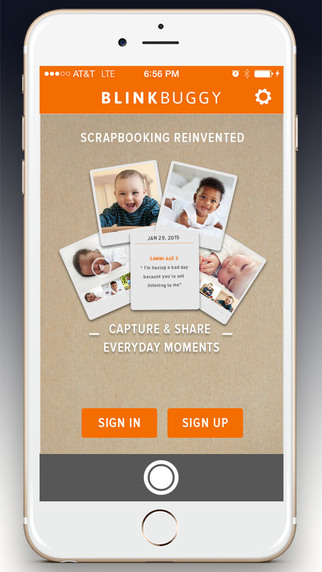 Blinkbuggy - Digital online scrapbooking for videos photos quotes milestones digital artwork and oth