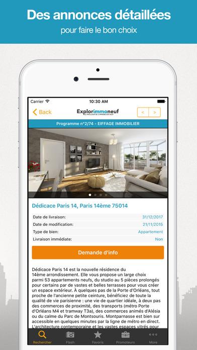 Explorimmo9 : Immobilier, Investir, BBC, Scellier, Neuf iPhone Screenshot 4