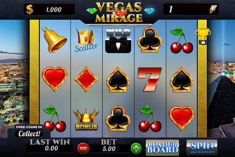 `` 2015 `` Vegas Mirage - Best Slots Star Casino Simulator Mania screenshot 1