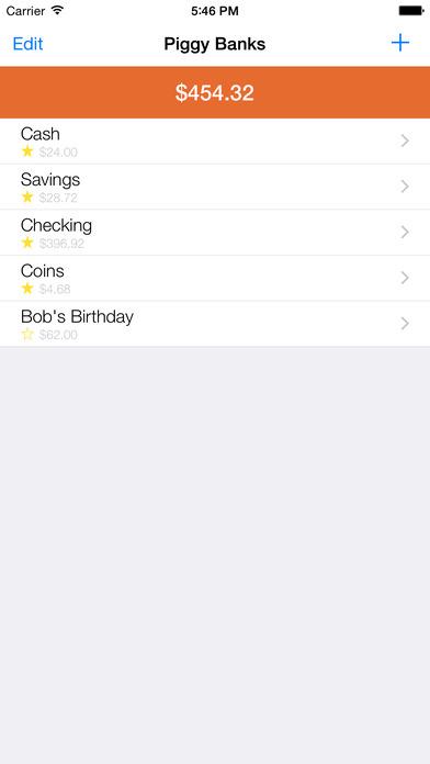 My Piggy Bank iPhone Screenshot 4
