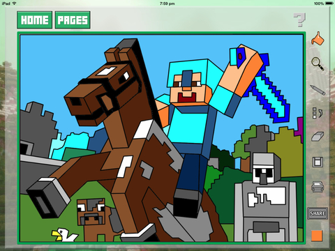 Quick Color for Kids - Minecraft Edition 2