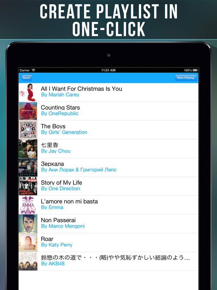 Musix Tube: Free Music Player and Playlist Manager for Youtube ( iOS ...