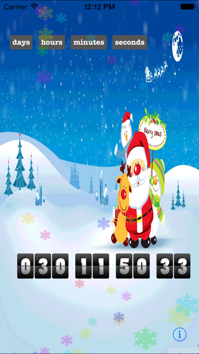 Christmas Countdown Extreme Edition - The Best Countdown App Santa Approved-2