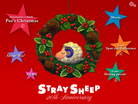 STRAY SHEEP Poe's Christmas iPad Screenshot 2
