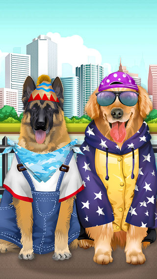 Dogs Salon - Puppy Care Pet Play