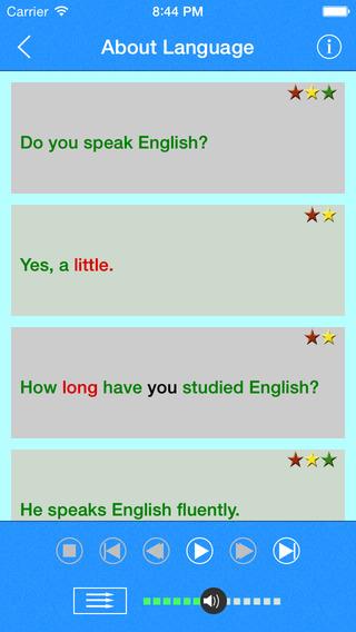 Englishow - improve your spoken English