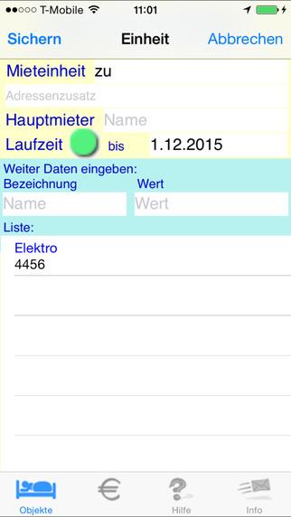 MietValue iPhone Screenshot 2