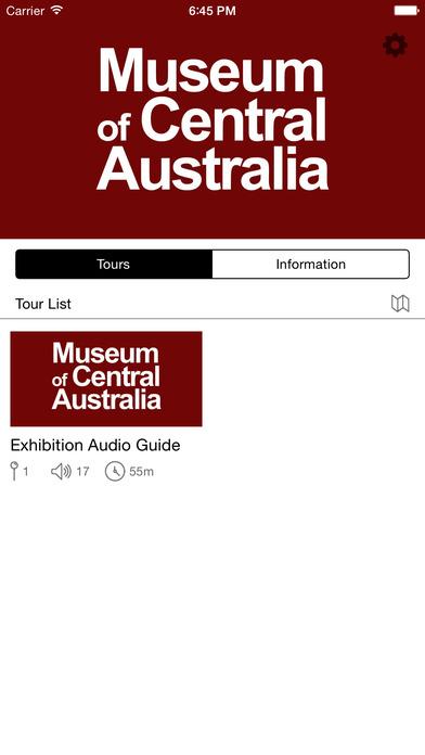 Museum of Central Australia iPhone Screenshot 1