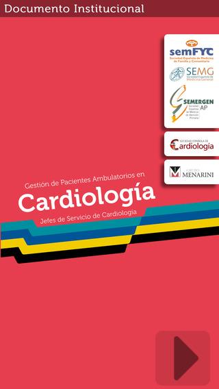 Gestión de pacientes ambulatorios de Cardiología