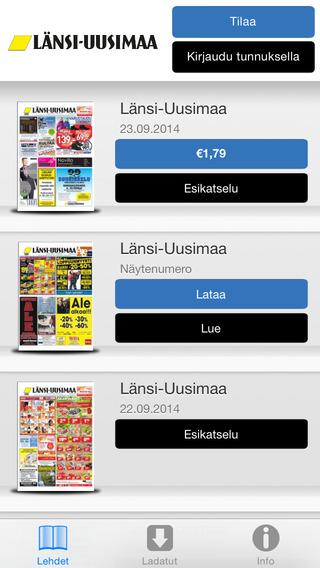 玩免費新聞APP|下載Länsi-Uusimaa app不用錢|硬是要APP