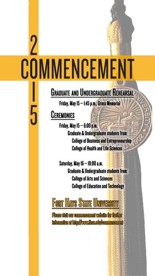 2015 FHSU Commencement