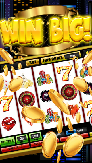 777 Slots World Casino Games - Win At Jackpot Las Vegas Bonanza With Multiple Reels Pro