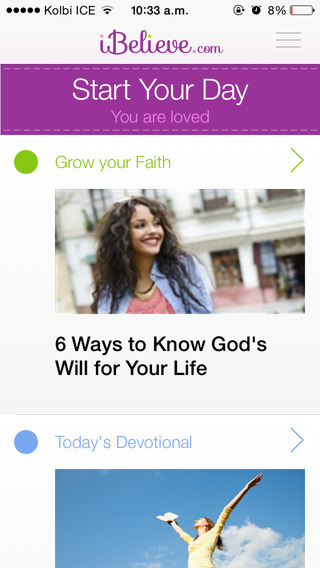 Women's Bible Devotional by iBelieve