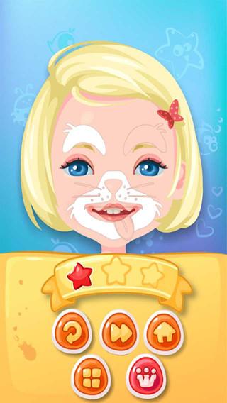 Kids Face Artist - Fun Kids Game