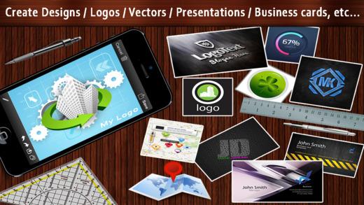 Design Logo Creator - Make designs logos presentations graphics business cards