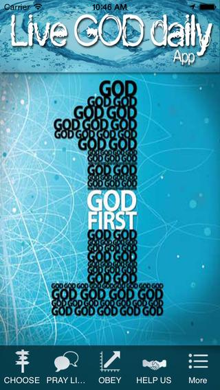 Live God Daily app