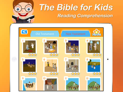 I Read - The Bible for Kids Reading Comprehension