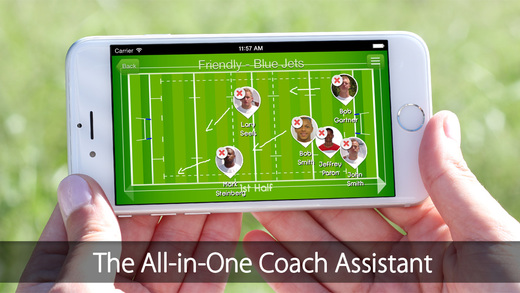 iGrade for Rugby Coach Player's management with Roster Game and Practice Schedule Performance Tracki