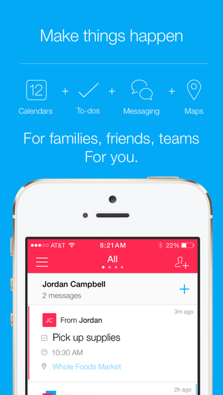 Kyber Make things happen with Messenger Reminder shared Calendar To-do Task list