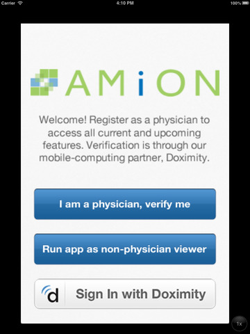 Screenshot 1 Amion - Physician Scheduling