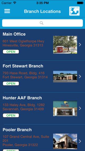 GeoVista Credit Union Mobile